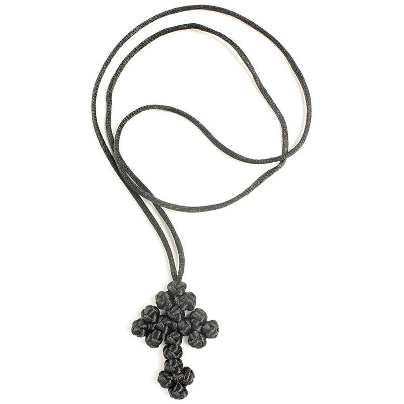 Плетеный нательный крест