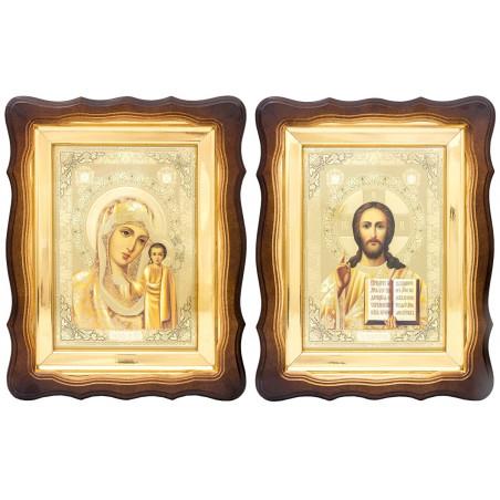 Пара икон Божья Матерь...