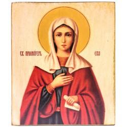 Икона Святой праматери Евы (11х13)