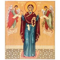 Икона Божией Матери «Нерушимая Стена» (11х13)