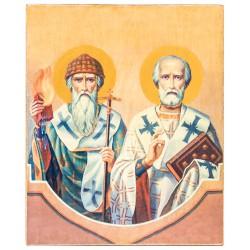 Икона Святитель Спиридон Тримифунтский (15х18)