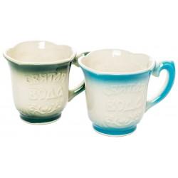 Керамическая чашка для святой воды (18897)