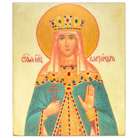 Икона Святая Александра (11х13)