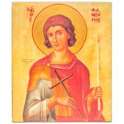Икона Святой Фанурий (11х13)