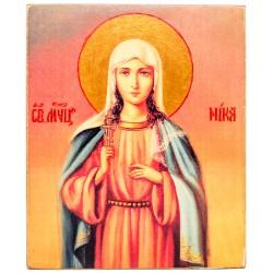 Икона Святая Ника 11х13 см