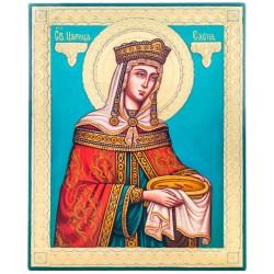 Писаная икона Святая Елена 21х26 см