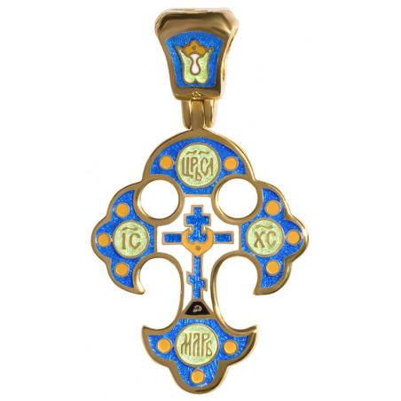 Крест «ГОЛГОФСКИЙ КРЕСТ С ЦАТОЙ. КРИПТОГРАММА ДДДД» КС066
