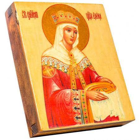 Икона Святая равноапостольная царица Елена 11х13 см