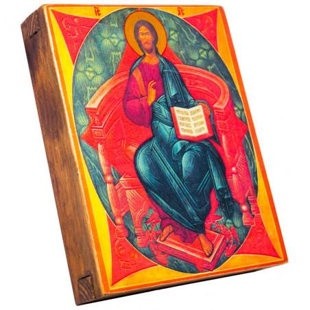 Икона Спас в Силах 11х13 см