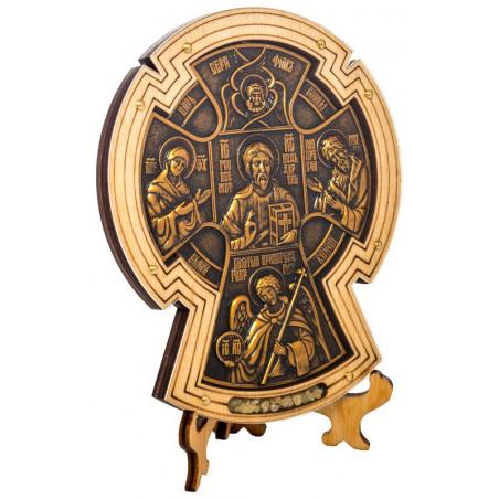 Крест «Мальтийский» с подставкой
