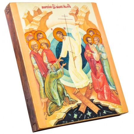 Икона Воскресение Христово 15х18 см