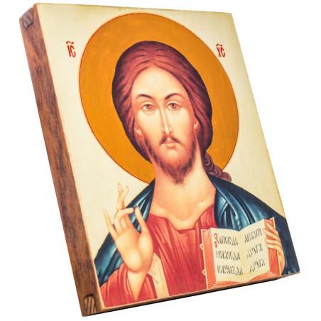 Икона Спаситель 15х18 см