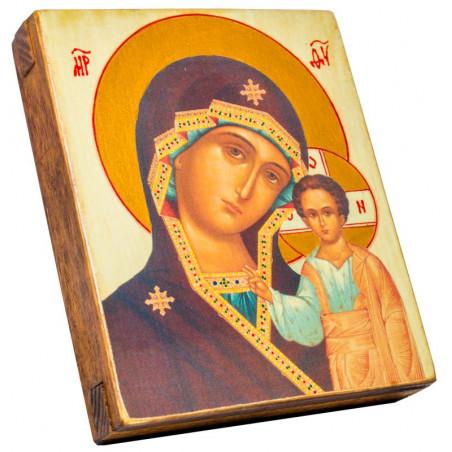 Икона Божией Матери «Казанская» 11х13 см