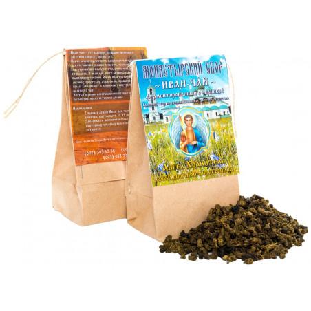 Монастырский чай: Иван-чай (ферментированный) с черникой