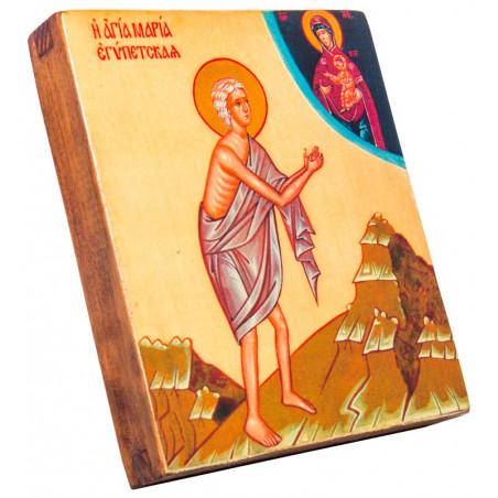 Икона Святая Мария Египетская 11х13 см