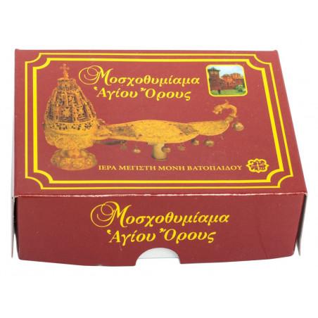 Ладан Афонский (Ватопедский), ручная нарезка, высший сорт, 100 г
