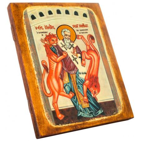 Икона Священномученик Игнатий Богоносец 24х30