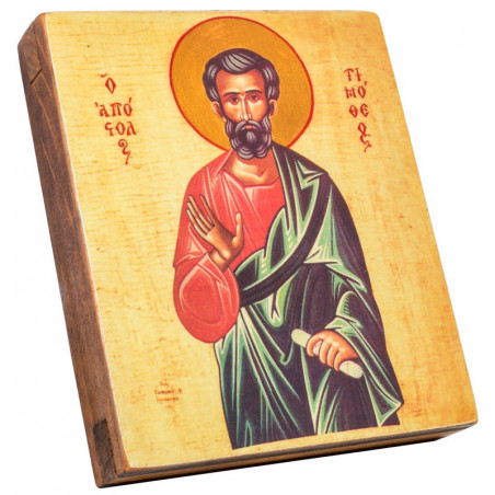 Икона Святой Тимофей 11х13 см