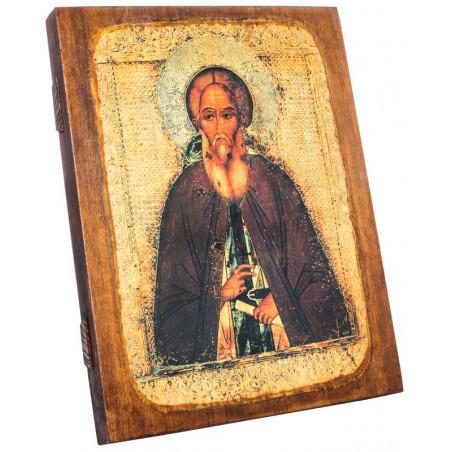 Икона Святой преподобный Сергий Радонежский 24х30 см