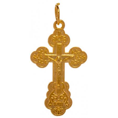 Нательный алюминиевый крест