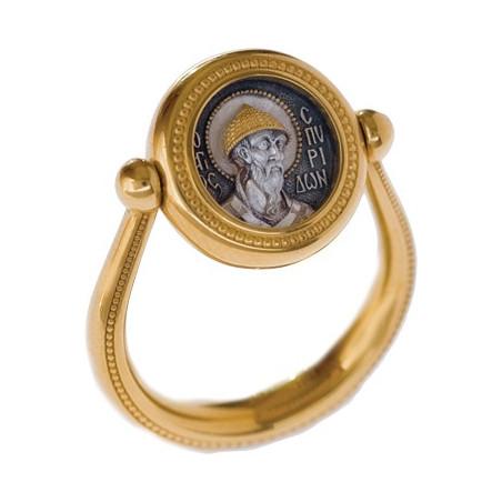 Перстень с иконой...