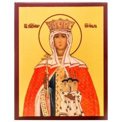 Икона Равноапостольная княгиня Ольга 10х12 см