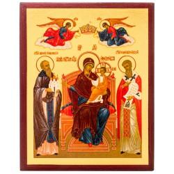 Икона Божией Матери «Экономисса» 10х12 см