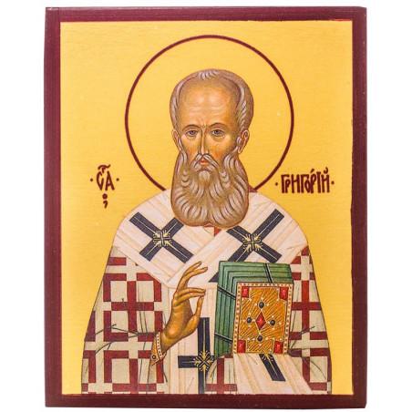 Икона Святитель Григорий Богослов 10х12 см
