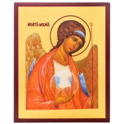 Икона Архангел Михаил 10х12 см