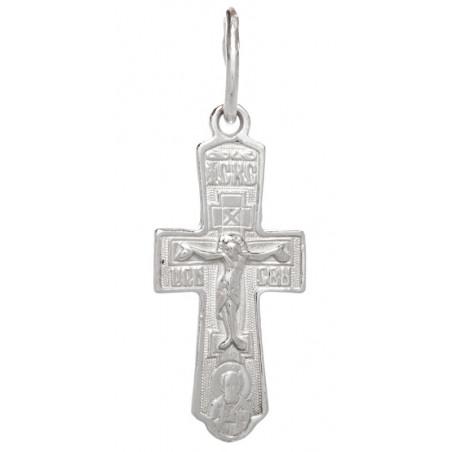 Нательный серебряный крест...