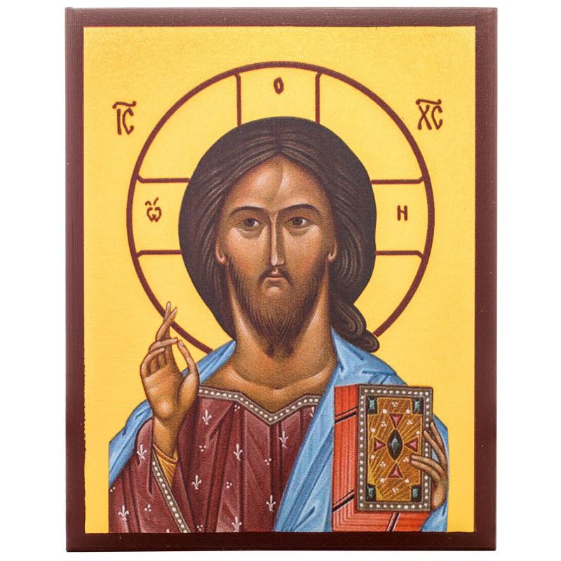 Икона Спаситель 10х12 см