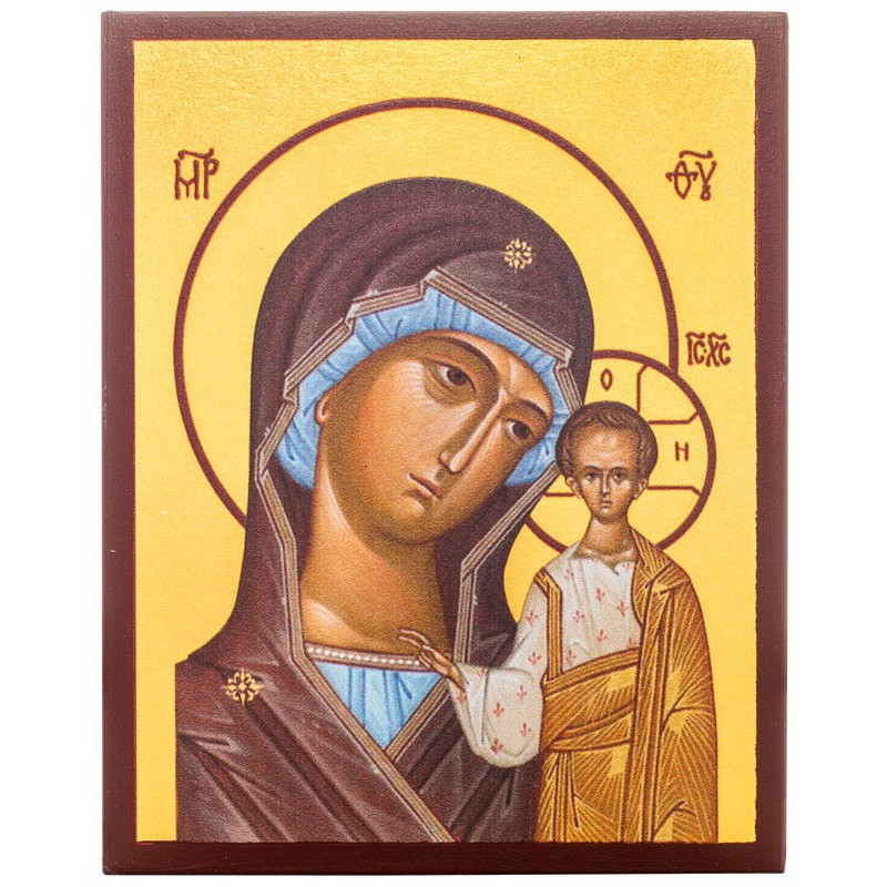 Икона Божией Матери «Казанская» 10х12 см