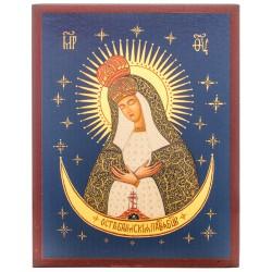 Икона Божией Матери «Остробрамская» 10х12 см