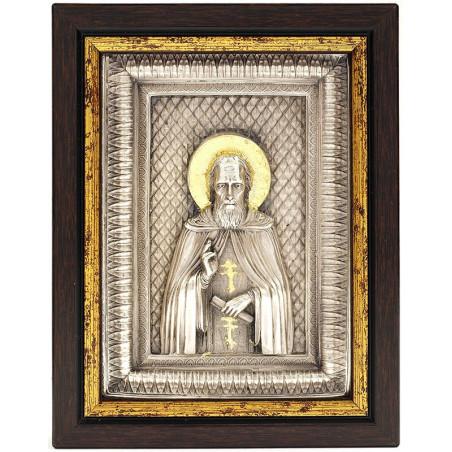 Икона Святой Сергий Радонежский (02322)