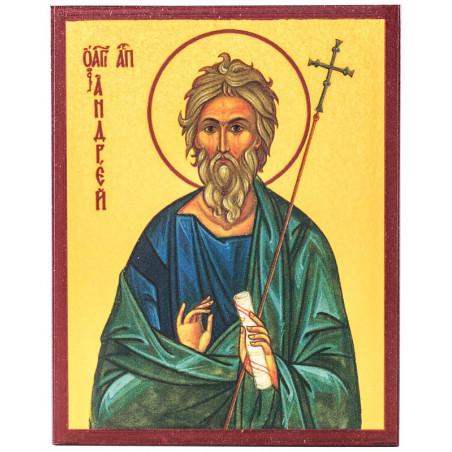 Икона Апостол Андрей Первозванный 10х12 см