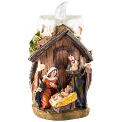 Светодиодная свеча вертеп «Рождество Христово»