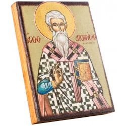 Икона Святой Дионисий 11х15 см