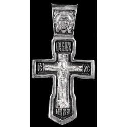Крестик серебряный нательный (СК-820)