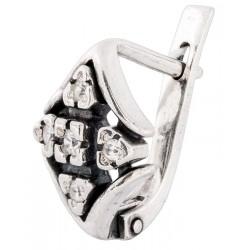 Серебряные серьги 4-070с