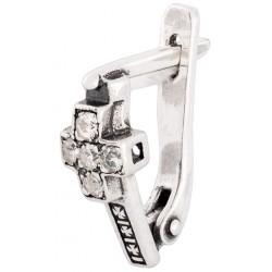 Серебряные серьги 4-068с