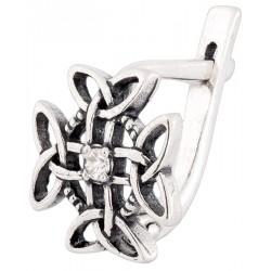 Серебряные серьги 4-065с