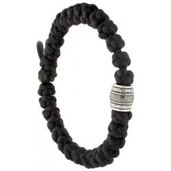 Плетеные четки-браслет на 30 шт. с молитвой Бог есть любовь