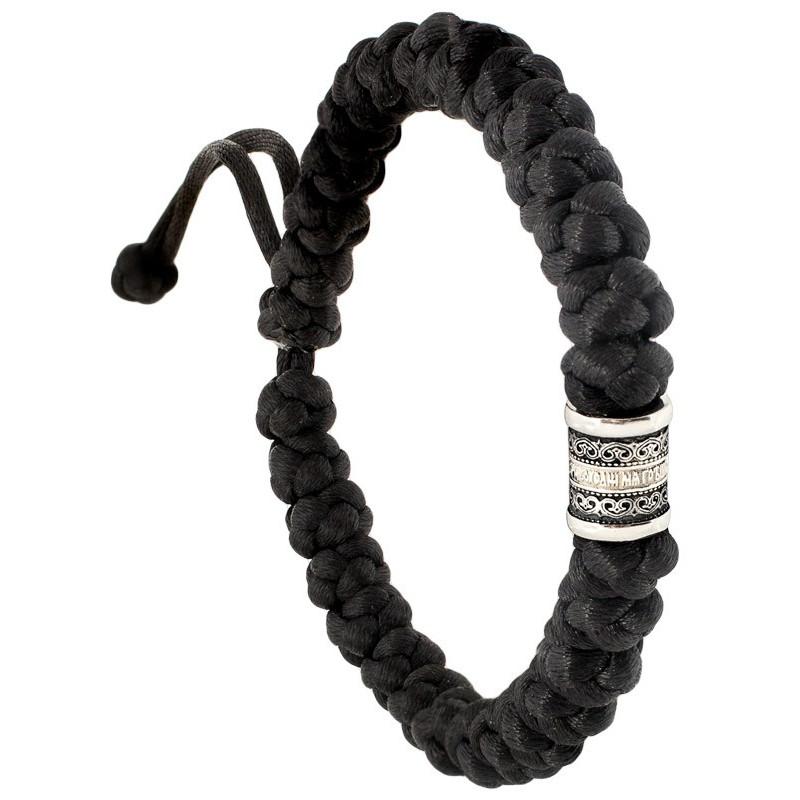 Плетеные четки-браслет на 30 шт. с Иисусовой молитвой