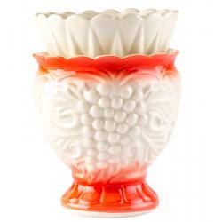Керамическая настольная лампада «Виноград»