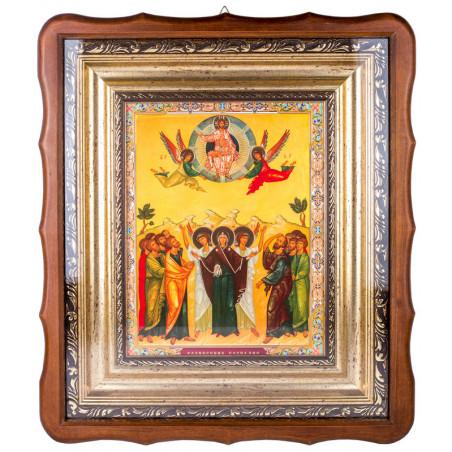 Открывающийся киот с набором икон Двунадесятые праздники