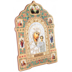 Икона Божия Матерь «Казанская» 18х25 см