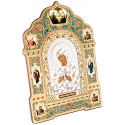 Икона Божия Матерь «Семистрельная» 18х25 см