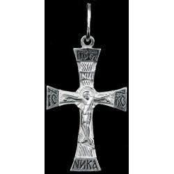 Крестик серебряный СК-855