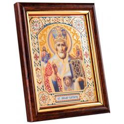 Икона в багетной рамке 10х12 см