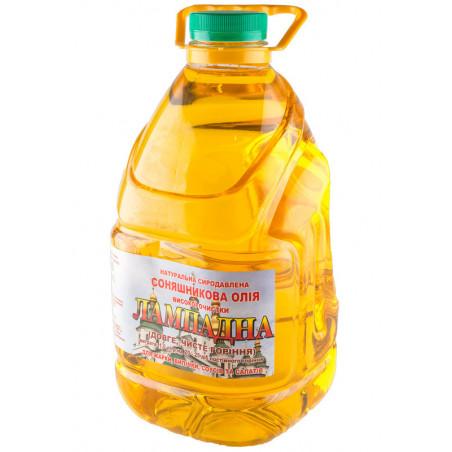 Лампадное масло подсолнечное 3 литра